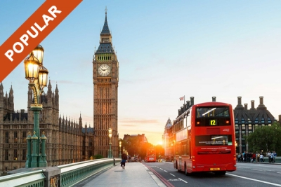 London - 5 Countries Muslim Tour